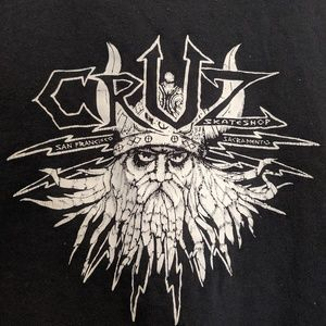 90s Grunge Cruz Skateshop Shirt